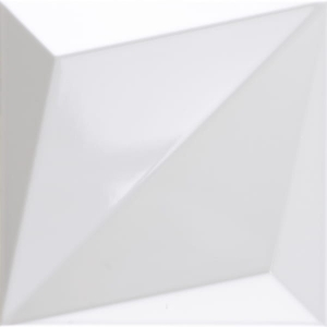 Dune Shapes Origami White Gloss 25x25