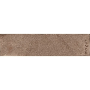 Aparici Brickwork Moka Stamp Natural 24,9x100