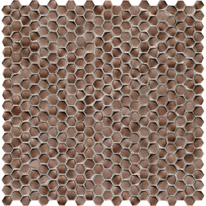 Gravity Aluminium Hexagon Copper miedziana mozaika L'Antic Colonial 31x31