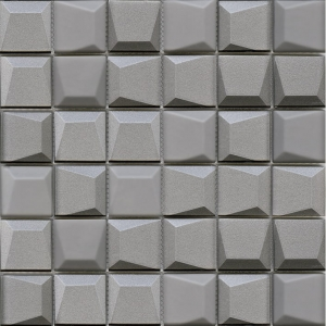 Effect Square Silver mozaika strukturalna 3D L'Antic Colonial 30x30