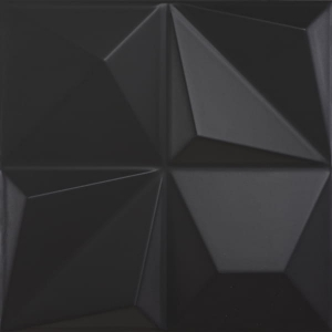 Dune Shapes Multishapes Black 25x25