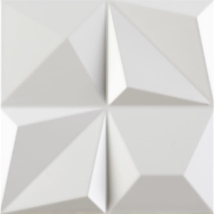 Dune Shapes Multishapes White 25x25