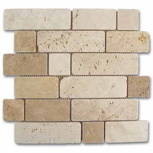 Dune Mosaico Travertino Brick 184996 mozaika kamienna 30,5x30,5