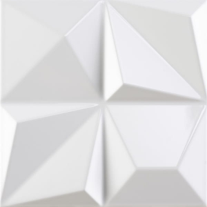 Dune Shapes Multishapes White Gloss 25x25