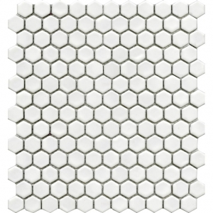 Air Hexagon White Matt mozaika ceramiczna L'Antic Colonial 27,2x30,4