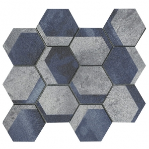 L'Antic Colonial mozaika kamienna Universe Hexagon Blue 26,7x23